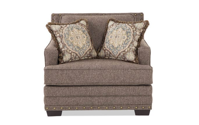 Garden City Taupe Chair & 1/2
