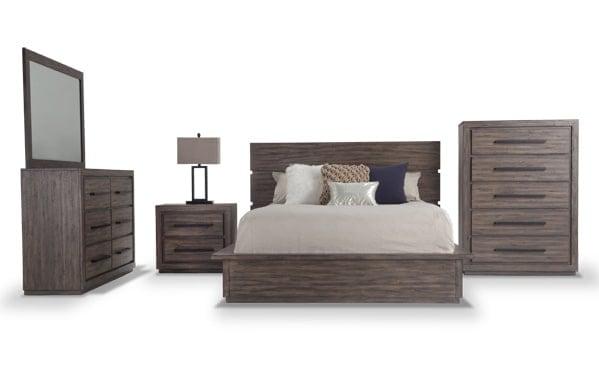 elements bedroom set - Rustic Bedroom Set
