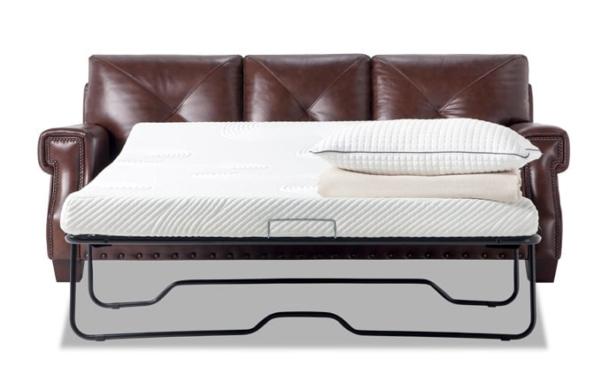 Kennedy Leather Bob-O-Pedic Gel Queen Sleeper