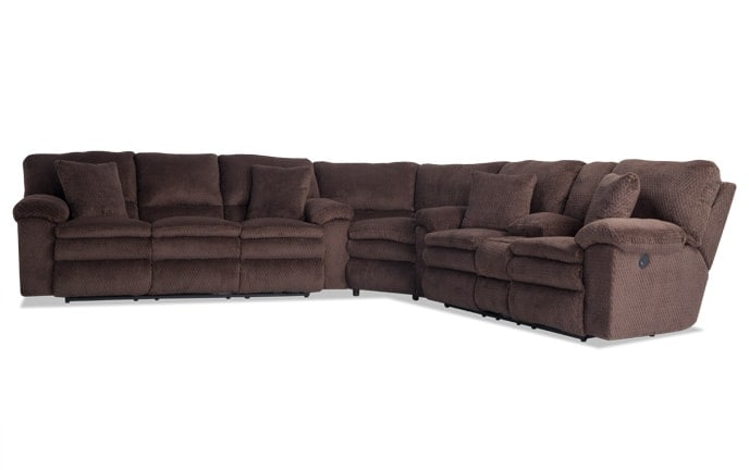 Niles Power Reclining Sectional